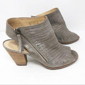 Paul Green Shoes - Paul Green Cayanne leather peep toe sandal